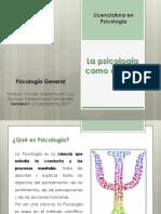 Psicología General Semana 1
