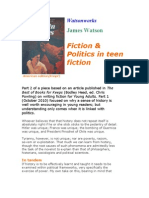 Politics and Teen Fiction