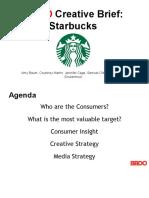 Starbucks Creative Brief