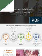 Evolución del derecho mercantil en Colombia