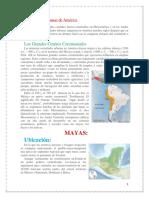 Mayas,Incas y Aztecas