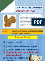 PPT LA BIBLIA A.T. 2019 7° GRADO LISTO imprimir 7MO