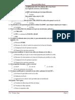 Evaluaciones Excel 2007