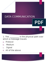 Data Communication Mcq