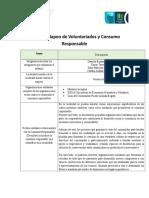 Ficha de Mapeo Voluntariados