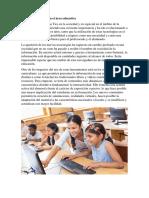 Oferta de Las TICS en El Área Educativa