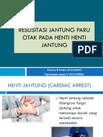 Ppt Refrat Rjpo Henti Jantung Fix