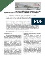 Avaliação Dos Parâmetros Termodinâmicos Da Adsorção de Pigmento Do Glicerol Oriundo Da Produção de Biodiesel