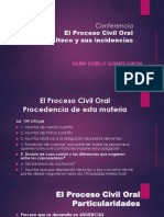 Proceso Civil Oral