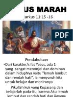 Yesus Marah