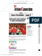 FORTALECERÁ LAURA FERNÁNDEZ AL CAMPO PORTOMORELENSE