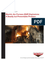 EAF Explosions a Deadly but Preventable Problem