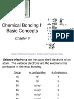 C9 Chemical Bonding I