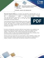 Reconocimento de Los Entornos de Trabajo Visual 2015