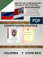 ANALISIS COMPARATIVO DE LA REPUBLICA DE COLOMBIA Y REPUBLICA DE COSTA RICA