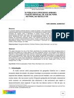 ARTIGO - Políticas Públicas e Processo Urbano - A Constituição Espacial de Juiz de Fora No Final Do Século XIX