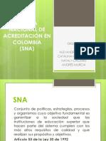 Sistema Nacional de Acreditación en Colombia