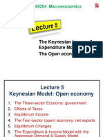 Lecture 5 Expenditure Model - Open Economy
