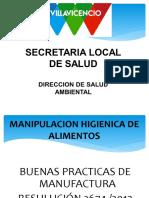 Capacitacion Higienico Sanitaria de Alimentos Andrea c.