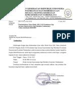 Surat Pemberitahuan Ujian Klinik Rpl d3 1819
