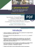 Hipoglicemia Valor Normal