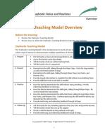 Playbook - Training Materials - Starbucks Teaching Model - Overview
