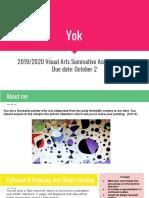 srisawang  yok  trinnawan - 2019 2020 visual arts summative assessment q1