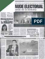 QUIJANO_2000_El Fraude Electoral Más Grande de La Historia