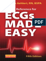 Pocket Reference for ECGs Made Easy 5th Edition