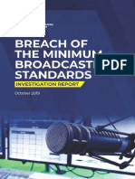 UGANDA UCC Broadcasting Investigation Report October 2019