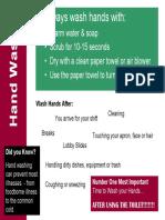 Starbucks Cleanliness Standards - Job Aid - Hand Washing.pdf