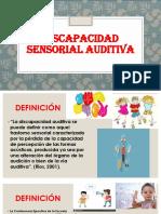 Discapacidad Sensorial Auditiva