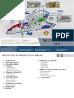 Diagnostico Urbano - CHICLAYO
