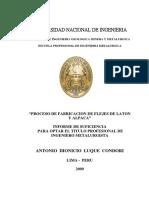 Proceso de Fabricacion de Flejes de Laton y Alpaca_tesis