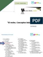 El verbo. Teoría.ppsx