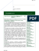 Ambrian - Coal Data
