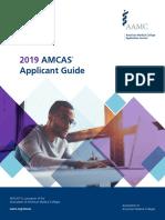 2019 AMCAS guide
