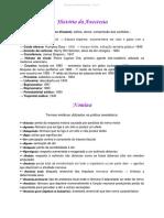 Introdução- Avaliação Pré - Anestésica