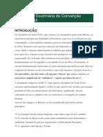 Declaração Doutrinária Da Convenção Batista Brasil