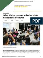 Antología de la Guitarra en Honduras