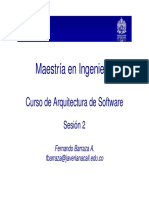 Arquitectura Software