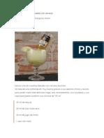 Recetas Cerveza y Forma Correcta de Tomarla