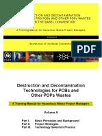 Destruction and Decontamination Technologies