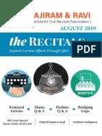 The Recitals August 2019