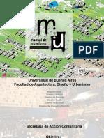 Presentación Manual urbanismo asentamientos precarios en la Cta
