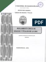 reglamento de grados y titulos UNH 2019