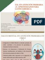 Salud Mental en Atención Primaria en Chile