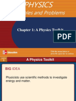 Ch1 a Physics Toolkit