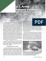 u s Army Flamethrower Vehicles Part 2