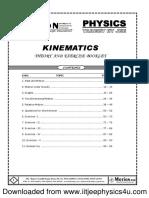 motion physics kinematics
